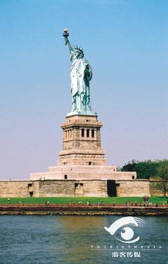 自由女神像简笔画图片